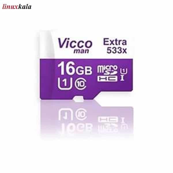 کارت حافظه microSDHC ویکو من مدل Extra 533X ظرفیت 16 گیگ