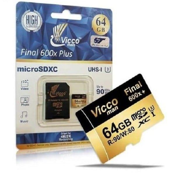 کارت حافظه microSDHC ویکو من مدل Final 600X ظرفیت 64 گیگ