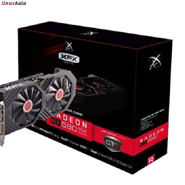 کارت گرافیک XFX AMD Radeon RX 580 GTS 8GB