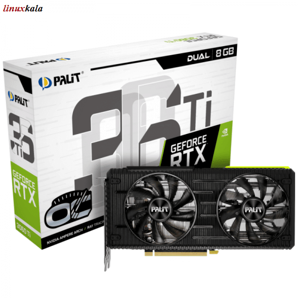 کارت گرافیک Palit GeForce RTX 3060 Ti Dual OC 8GB