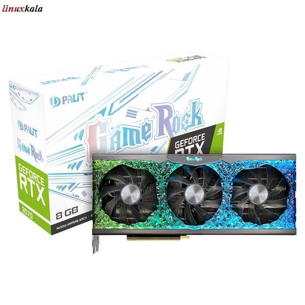 کارت گرافیک Palit GeForce RTX 3070 GameRock 8GB