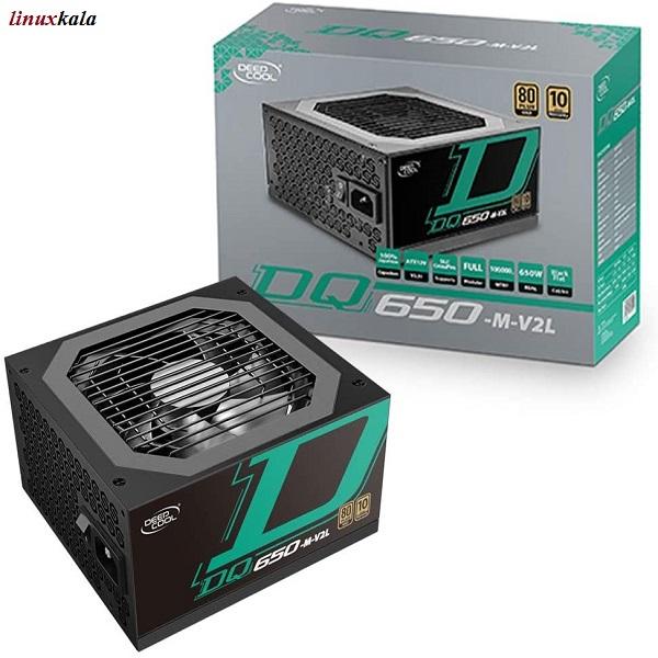 پاور دیپ کول DEEPCOOL DQ650-M-V2L