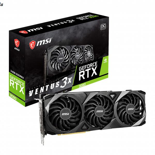 کارت گرافیک MSI GeForce RTX 3090 VENTUS 3X 24GB OC